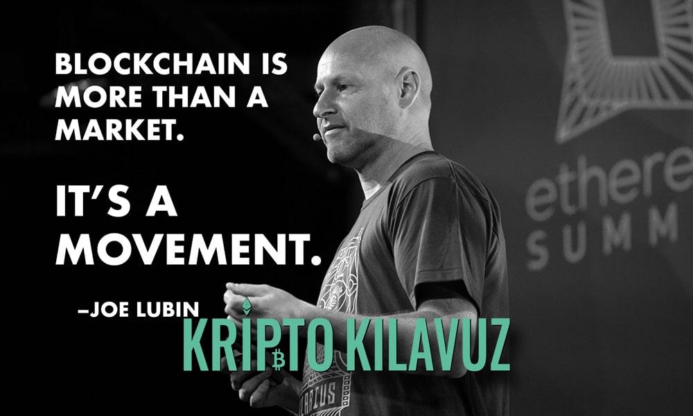 Ethereum Co-Founder Blockchain Mesleklere Yardımcı Olabilir!
