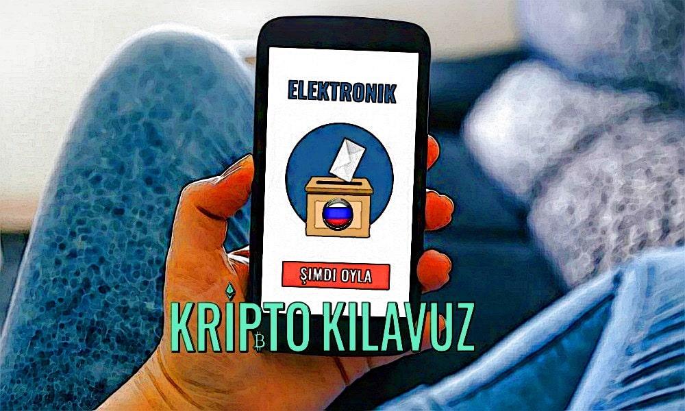 Moskova, E-Oylamada Blockchain Teknolojisini Kullanmayı Planlıyor