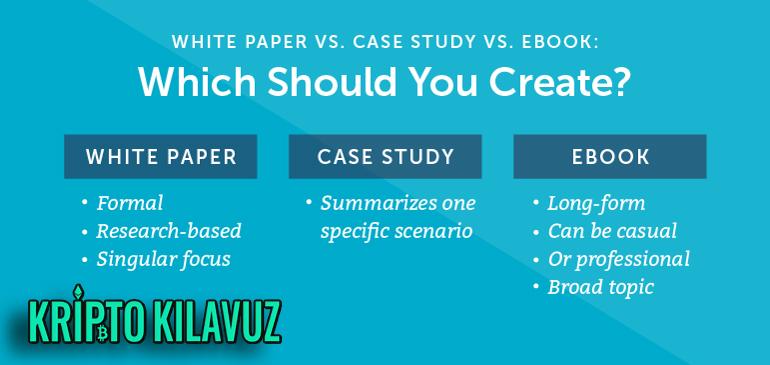 Whitepaper Örnekleri Nasıl Olmalıdır?